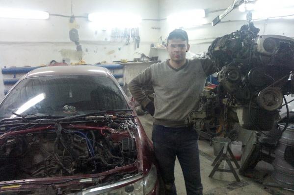 Обвиняемый Александр Магиленец неофициально подрабатывал автослесарем в одной из магнитогорских мастерских