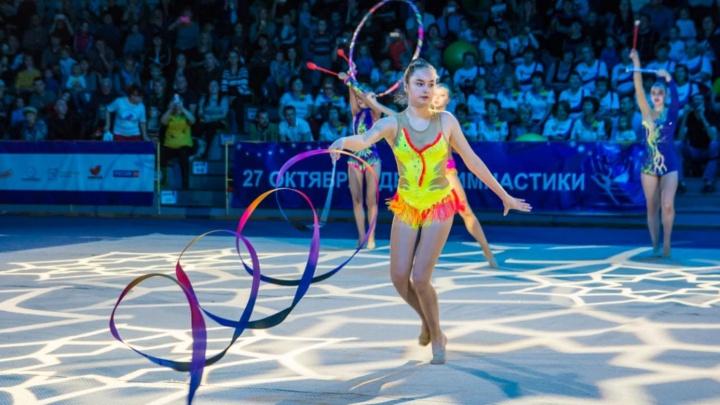 Красивые и гибкие: в Новосибирске прошёл фестиваль гимнастики