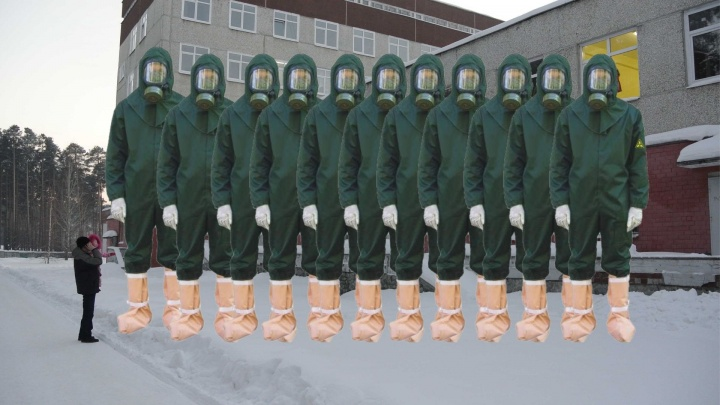 При чем тут китайский коронавирус? Екатеринбургская больница закупает противочумные костюмы