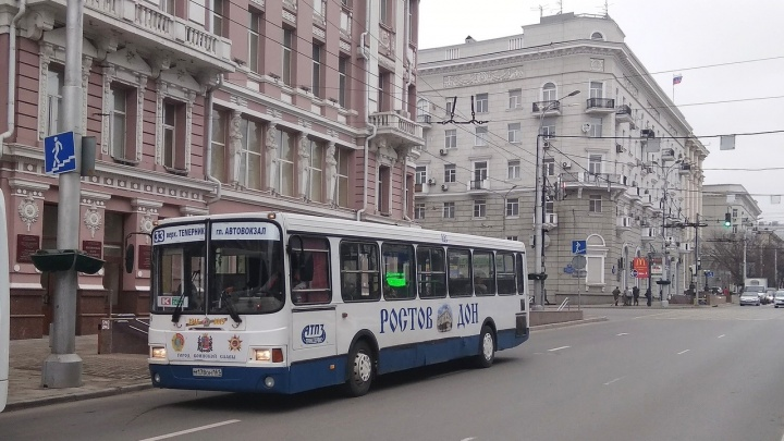 Автобусы АТП-3 снова вышли на ростовские улицы