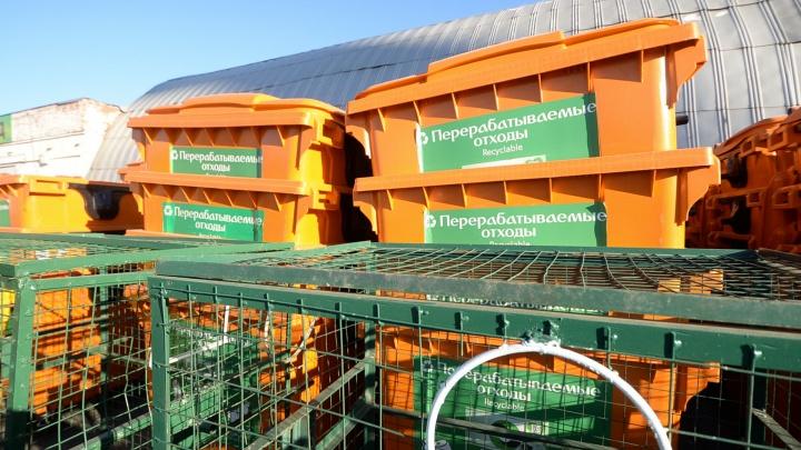 «Утром вышли — а их нет»: в «Спецавтобазе» объяснили, куда пропадают контейнеры под пластик