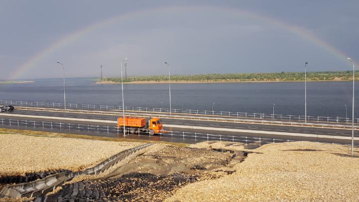«Недельная норма осадков»: рокадную дорогу у «Волгоград Арены» планируют расчистить в понедельник