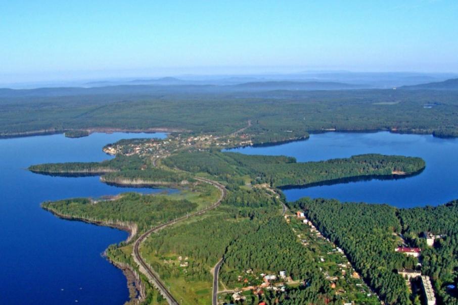 Вместе с туристическим центром на берегу озера Чебаркуль построят жилой микрорайон с высотками