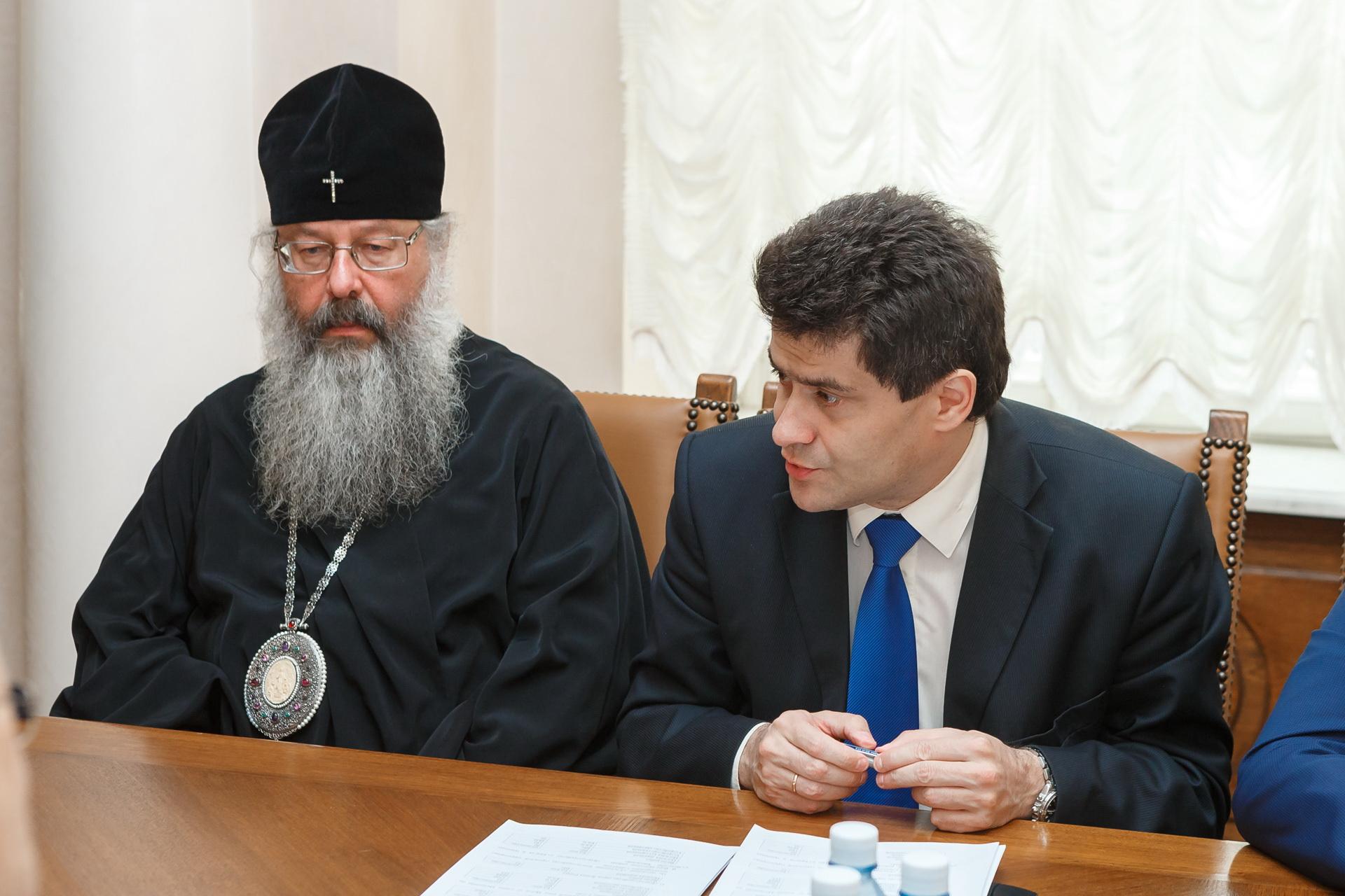 Митрополит Кирилл и Александр Высокинский