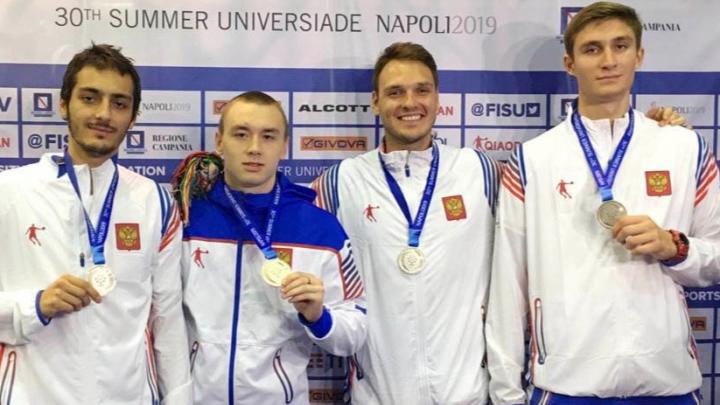 Новосибирец стал серебряным призёром Универсиады в Италии