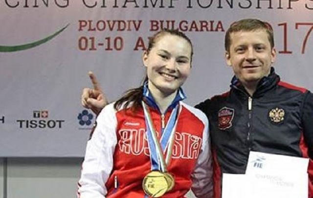 Юная рапиристка из Башкирии стала чемпионкой мира