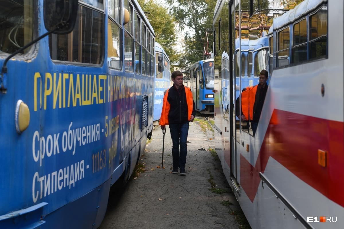Сергей выступает за дальнейшее обособление трамвайных линий в Екатеринбурге