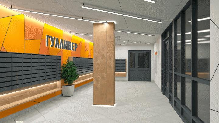 По холлу встречают: дизайнеры разработали уникальные входные группы для домов в центре Перми