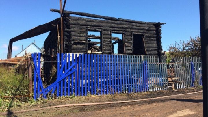 В Башкирии семье, где в пожаре погибли девять человек, построили новый дом
