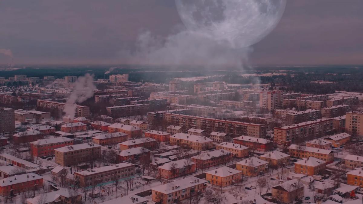 Такой город выглядит немного пугающе, но заманчиво
