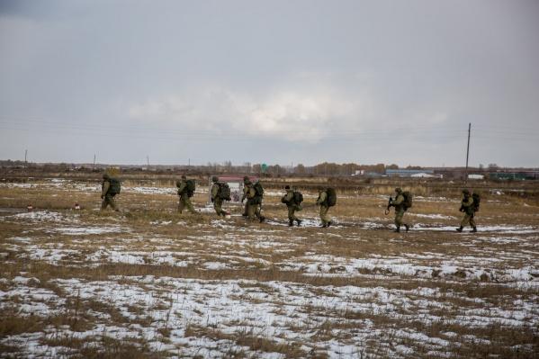 В основу тренировки легла боевая операция в Сирии