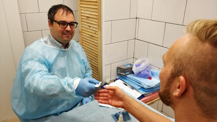 У «Динамо» открыли центр, где можно сдать анализ на ВИЧ. 8,5% первых тестов оказались положительными