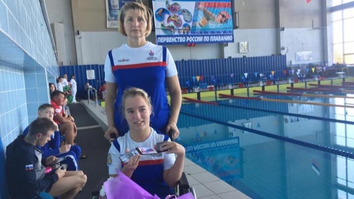 Парапловчиха из Архангельска Мария Удачина установила два национальных рекорда на чемпионате России