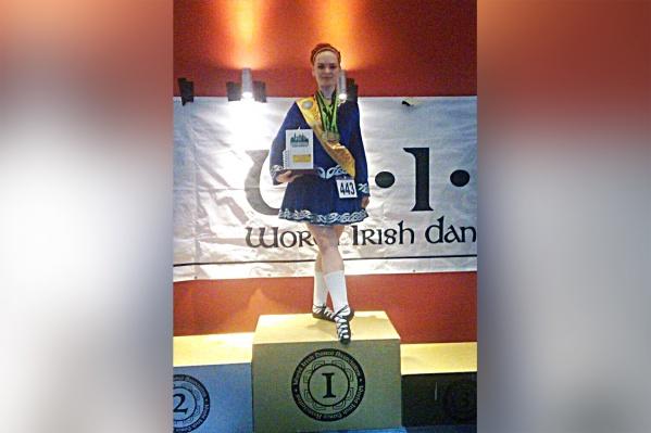 Сибирячка Евгения Савина стала победительницей в категории для начинающих танцоров