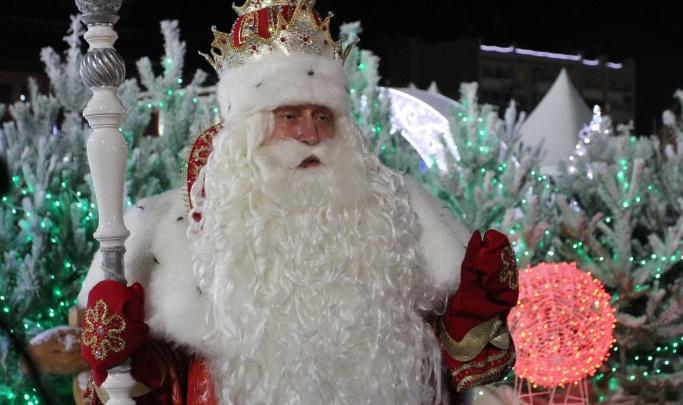 Дед Мороз из Великого Устюга устроит праздник в парке Гагарина