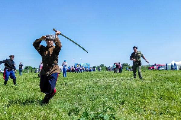 На фестивале «Шермиции» пройдут соревнования по джигитовке