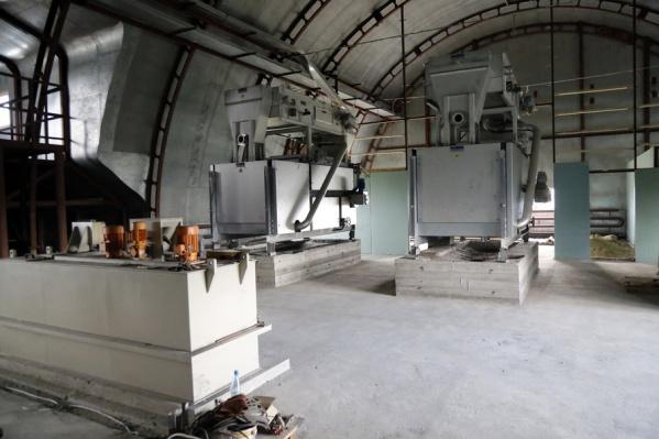 В Шадринске основные строительные работы на очистных сооружениях подходят к концу