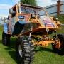 «Рыжая бестия»: южноуралец построил вездеход-монстр с мотором от Lexus