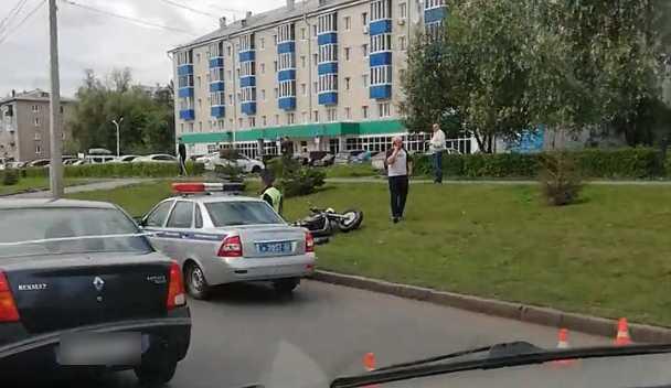 В Уфе столкнулись мотоцикл и«Нексия»