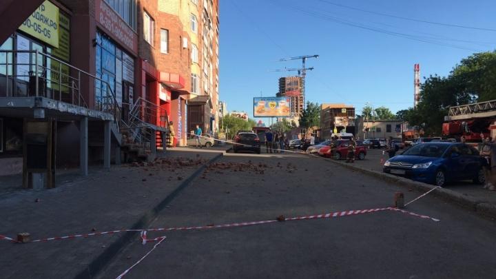 «Ограждения долго стоят»: челябинский мэр упрекнул коллег после обрушения фасада многоэтажки