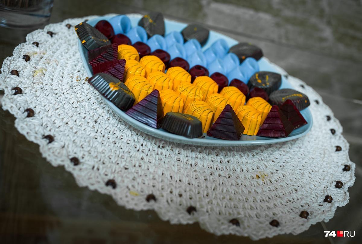 За конфетами с мохито и перцем выстраиваются очереди