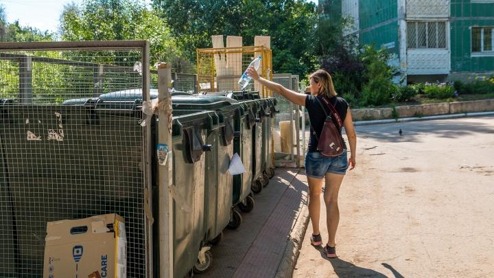В Самарской области не хватает мусорок