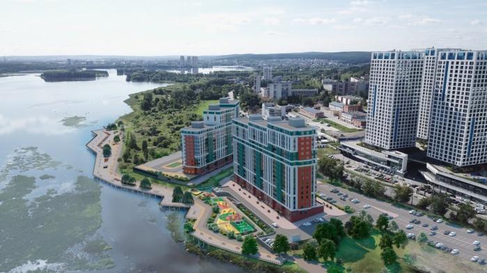 Квартал «Сказы Бажова на набережной Щербакова» обеспечит Екатеринбургу порядка 170 000 квадратных метров нового жилья