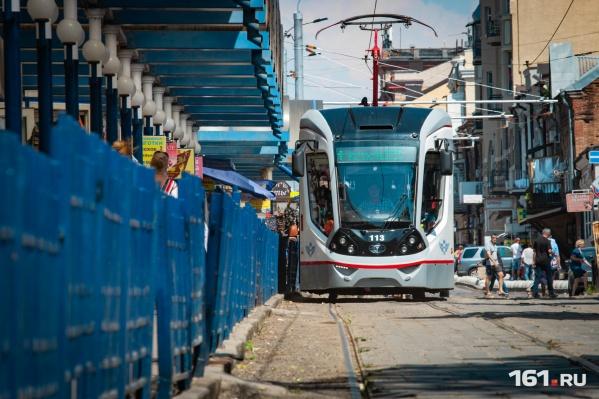 Теперь вагоны будут курсировать до Главного ж/д вокзала