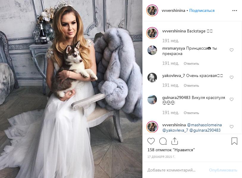 В своем Instagram девушка делилась результатами фотосессий