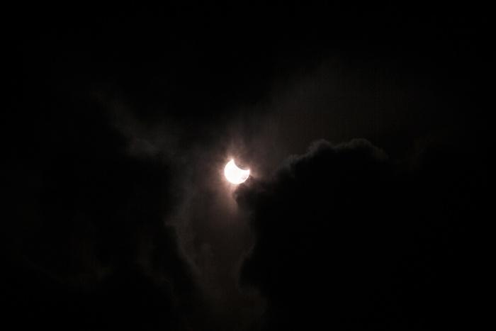 Солнечное затмение продлится чуть больше полутора часов