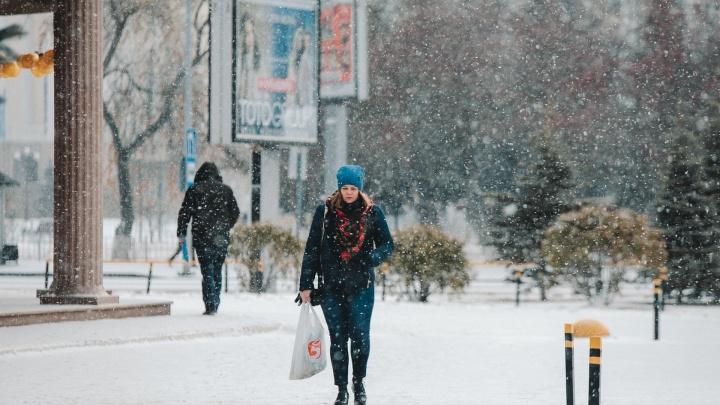Вот так погода: в Тюмени потеплеет до плюсовой температуры и пойдет снег