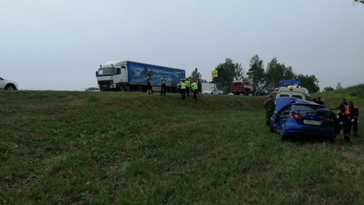 В Ярославской области восстановили движение по трассе после жуткого ДТП