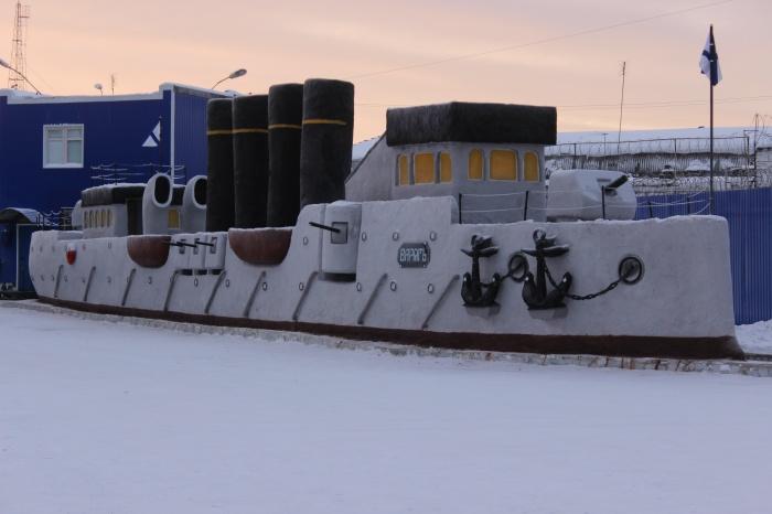Вот такой корабль слепили в ИК-47