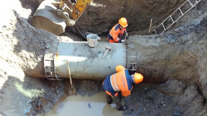 Жителей ЖБИ на два дня оставят без питьевой воды из-за ремонта сетей