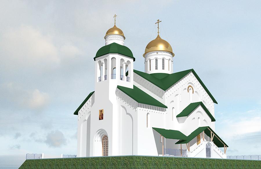 Вцентре Красноярска началось строительство старообрядческого храма