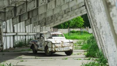 «ЗаPorscheц» кроссовый: катаемся на самой мятой иномарке в Омске