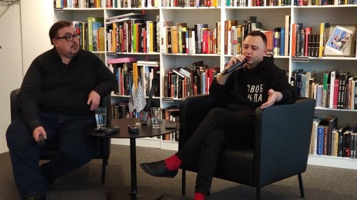 «Лето» в Екатеринбурге: Рома Зверь в прямом эфире рассказал про фильм о Викторе Цое