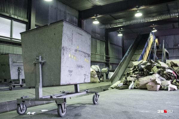 Северяне хотят воспрепятствовать строительству экотехнопарков в Поморье для мусора из других регионов