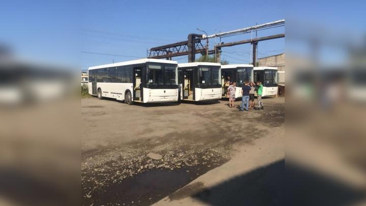 На маршруты Архангельска выйдет пятнадцать новых автобусов