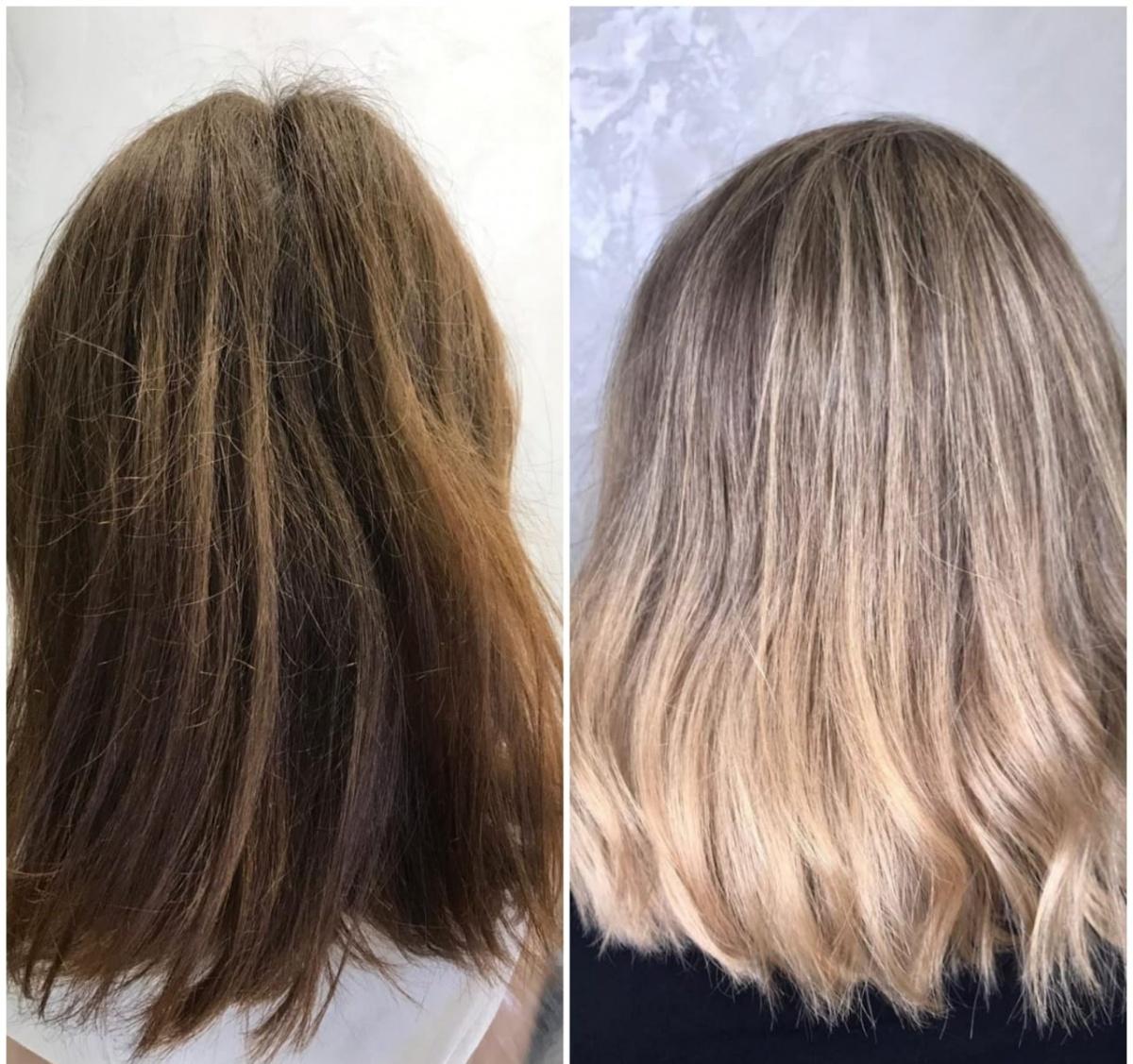 Новый цвет волос — это просто