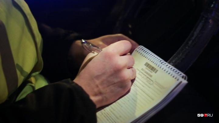 «Гнались четыре экипажа ГИБДД»: в Перми полицейские устроили погоню за лихачом без водительских прав