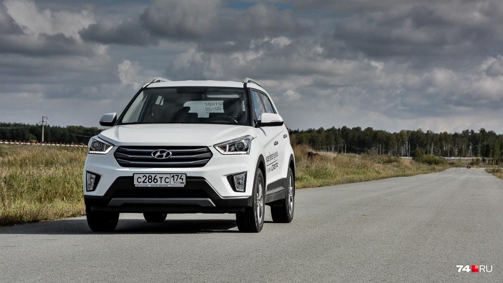 Hyundai Creta с передним приводом стоит от 947 тысяч рублей
