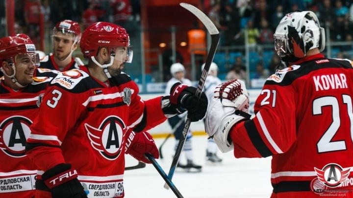 """ХК """"Автомобилист"""" одержал победу во втором домашнем матче регулярного чемпионата КХЛ"""