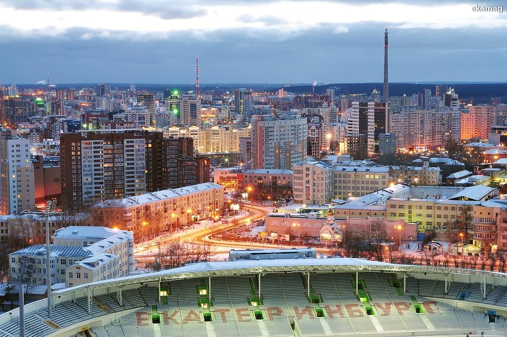 Центральный стадион, в отличие от башни, достроили в конце 2017-го