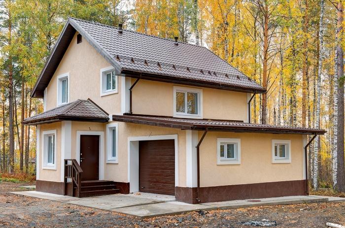 Типовой проект дома 125 кв. м с чистовой отделкой. Срок строительства — три месяца. Цена — 3 990 000 рублей