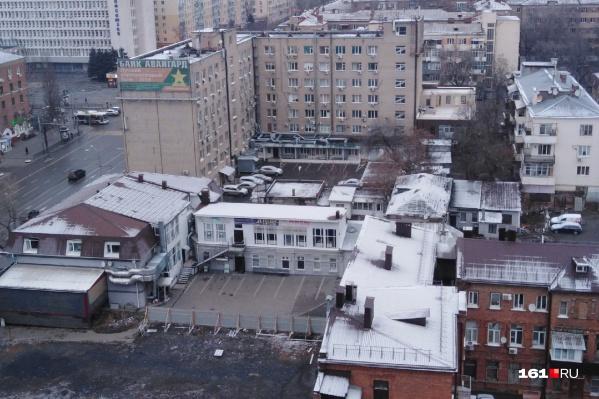 В ночь после Рождества в Ростове-на-Дону выпал долгожданный снег