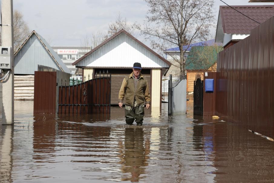 Уровень рек постепенно снижается