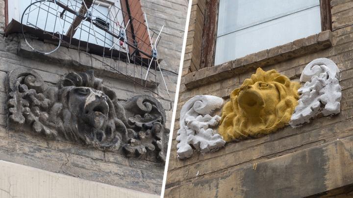 Власти города подали в суд на хозяйку дома, где старинную лепнину покрасили в желтый цвет