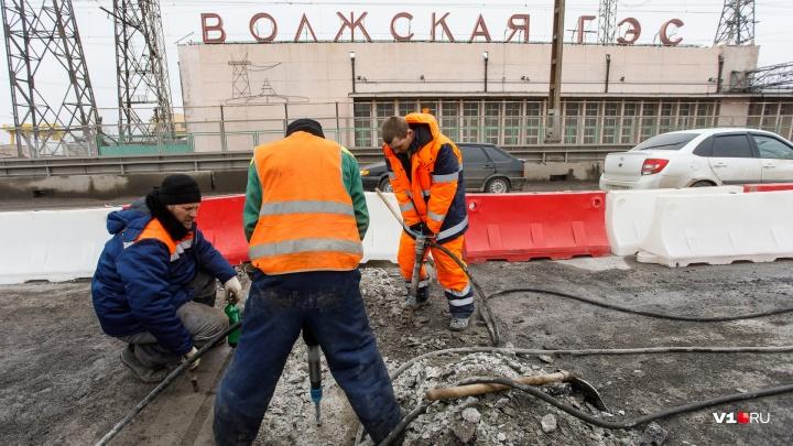 «Денег много не бывает»: с убитого перехода через Волжскую ГЭС сняли старческий асфальт