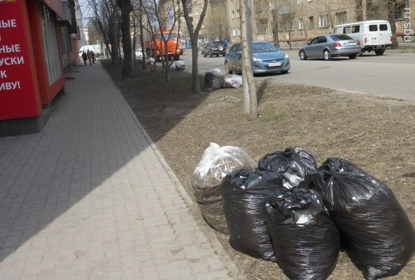 В мэрии назвали дату субботника и объяснили, почему мусор после него иногда лежит до лета